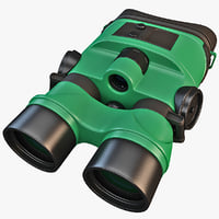 yukon tracker 1x24 night vision 3d model