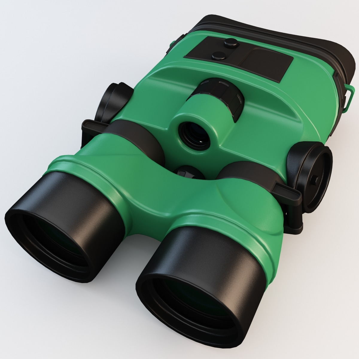 yukon tracker 1x24 night vision 3d model