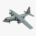 military airplane 3D models