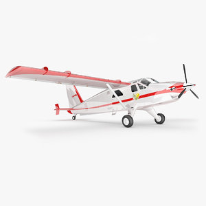 3d model air dhc-2t dhc-2