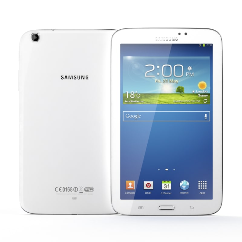 3d model of samsung galaxy tab 3