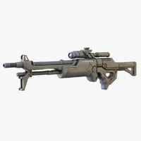 max sci-fi rifle