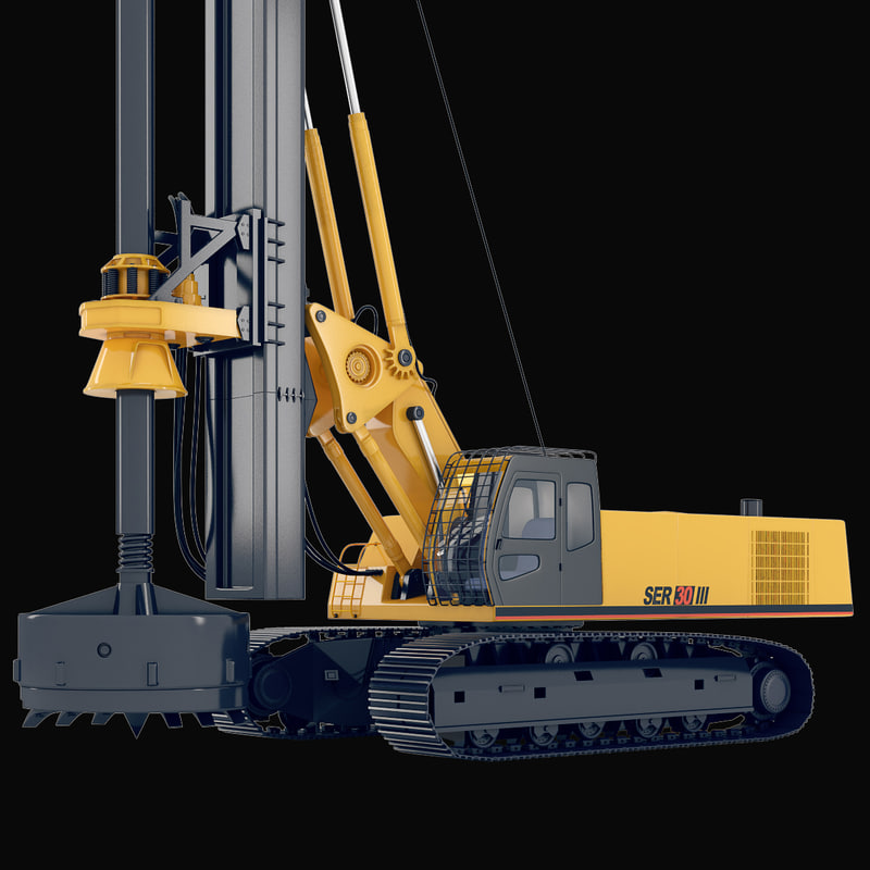 rotary drilling rig ser 3ds