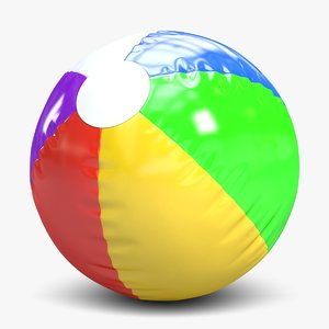 beach ball 2 3d 3ds