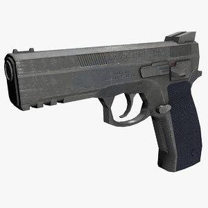 3ds max cz75 sp01 shadow gun
