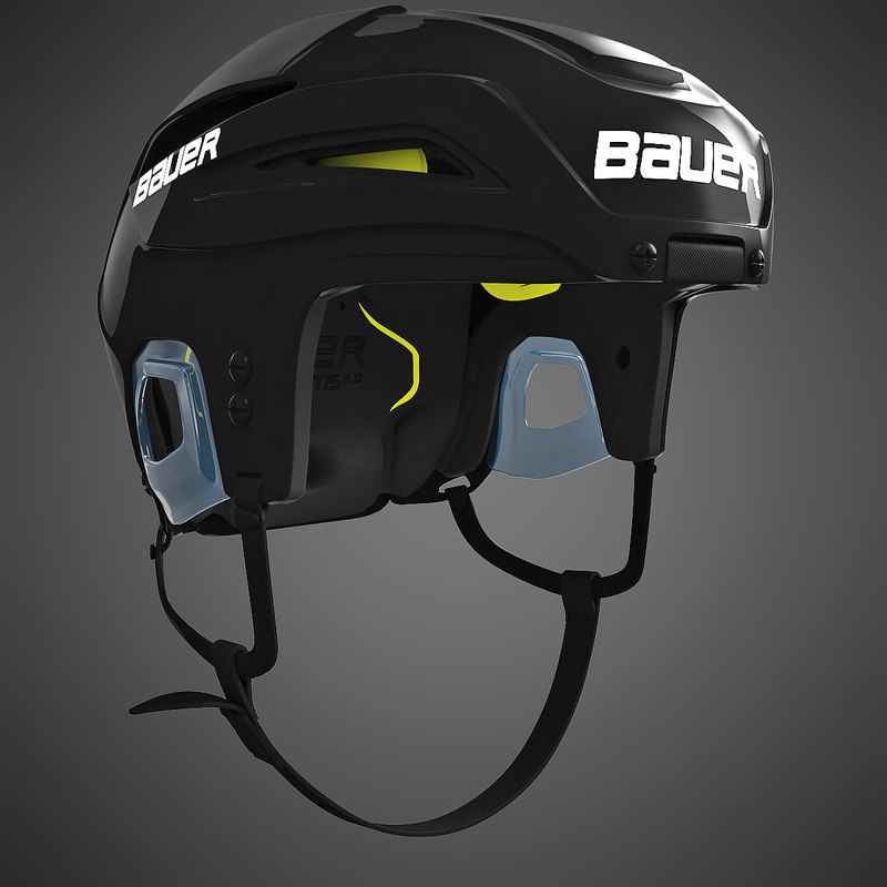 3d bauer ims11 ice hockey model