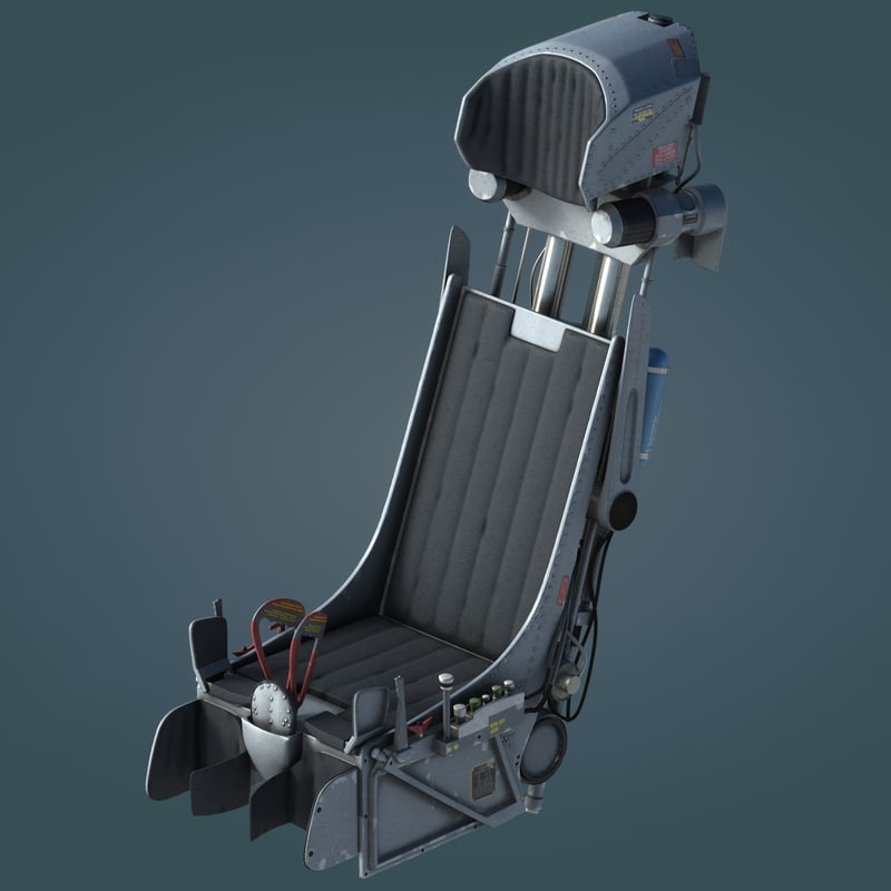 3dsmax k-36 ejection seat