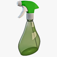 spray cleaning bottle 3d 3ds