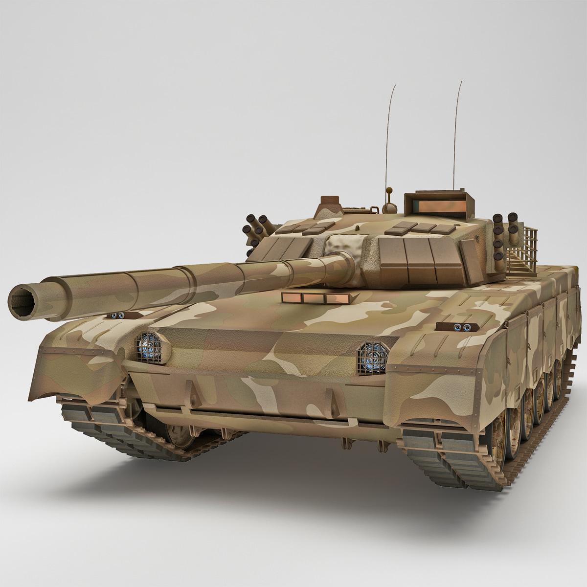 3d al-khalid type 90-iim mbt-2000