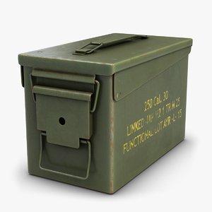 3dsmax ammo m2a1