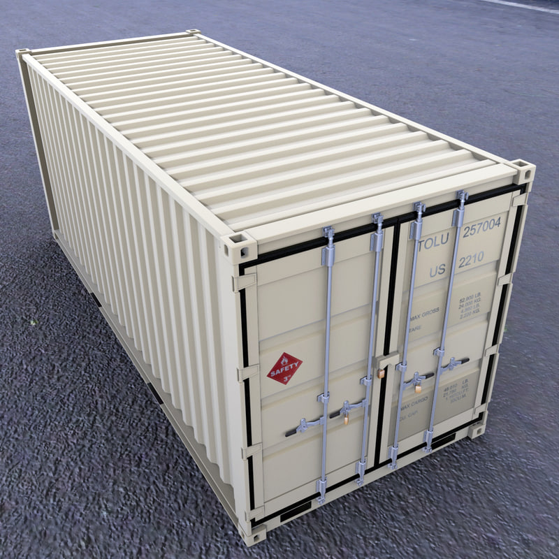 model 20 container