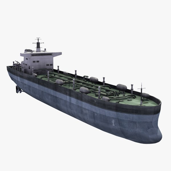 3ds max oil tanker