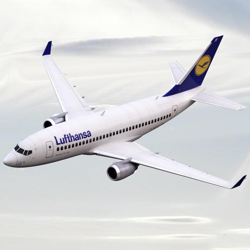 3ds boeing 737 700