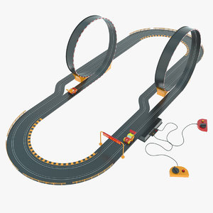 toy race track 3d max