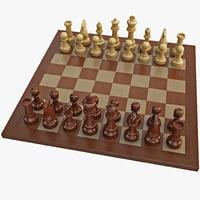 chess 2 3d model