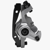 bicycle brake caliper shimano 3d model