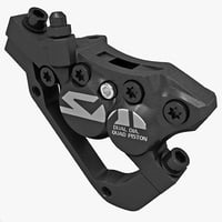 3d bicycle brake caliper shimano model