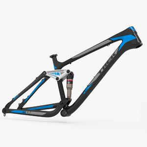 3d model mountain bike frame