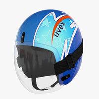 max luge uvex helmet
