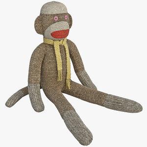 sock monkey max