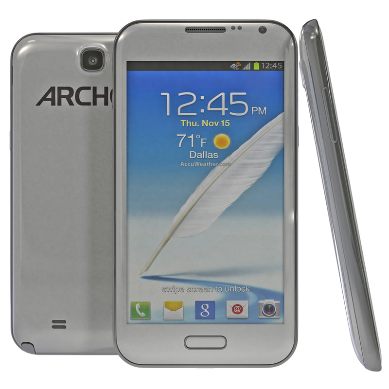3d model of archos 52 titanium
