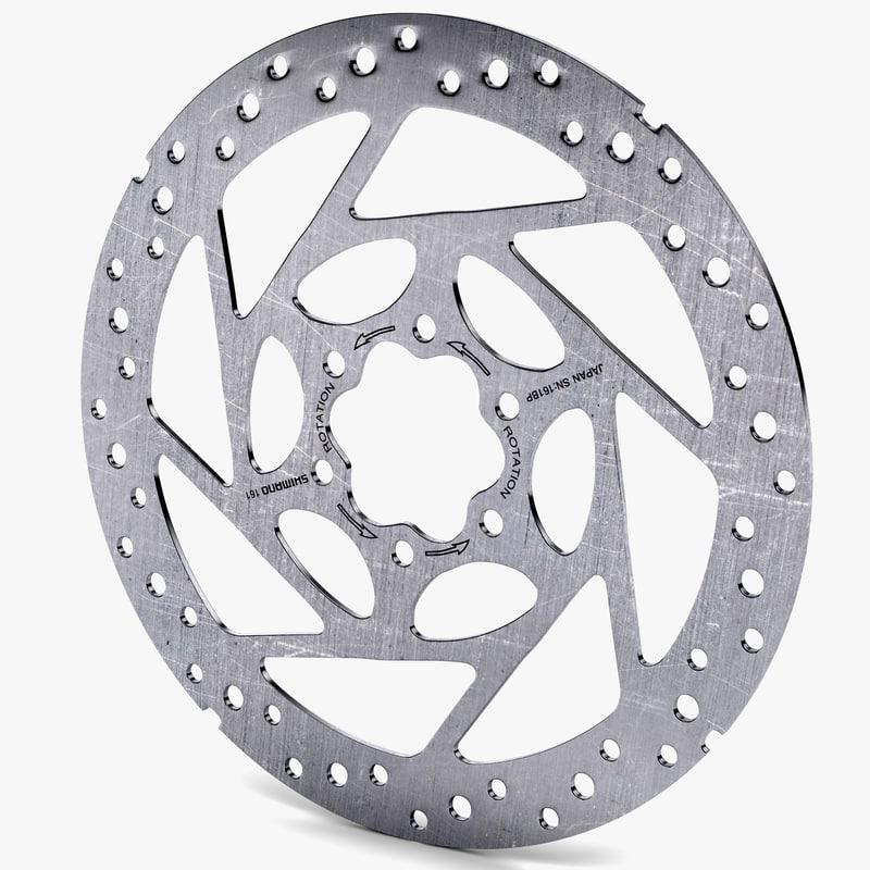 bicycle brake disc 3d