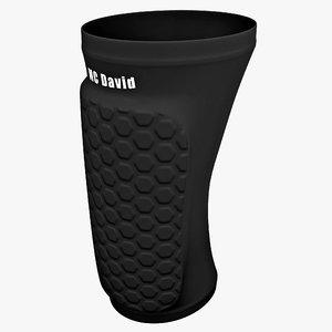 3ds max mcdavid hexpad knee elbow