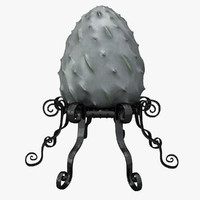 3d dragon egg holder model