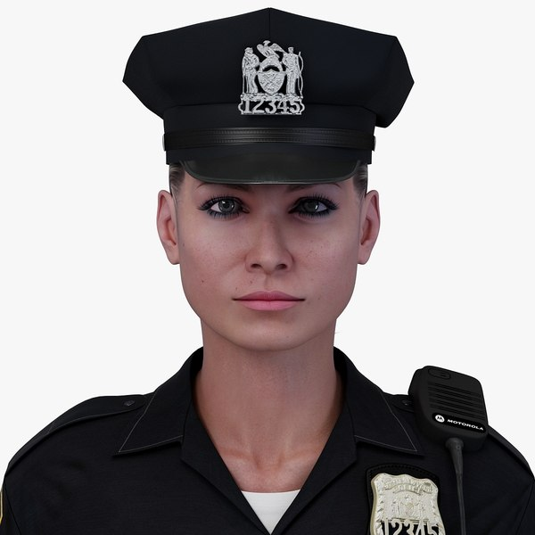 c4d police officer character rigging