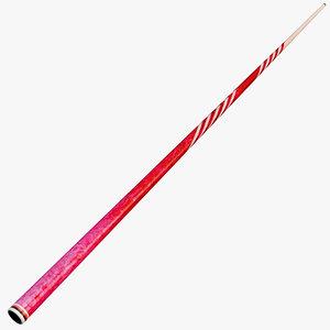 pool stick 3d c4d
