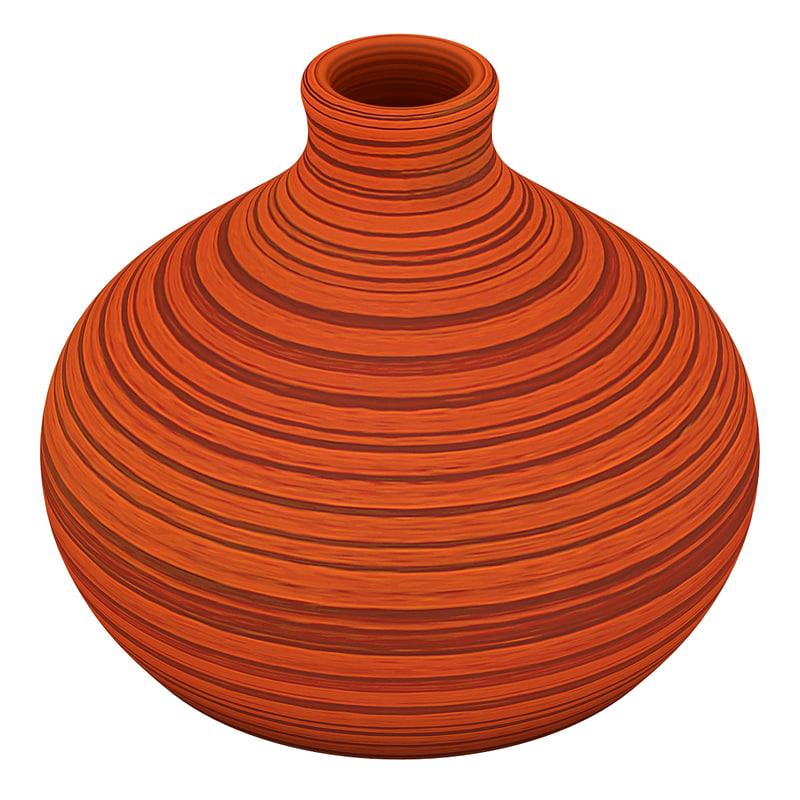 african vase 3d model