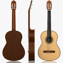 Acoustic Guitar 3D models