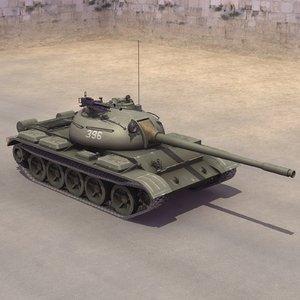 3ds t-55a t-55 soviet