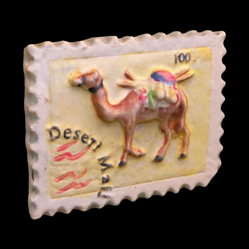 3d model tunisia magnet souvenir