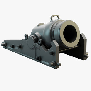 3d model spanish mortar