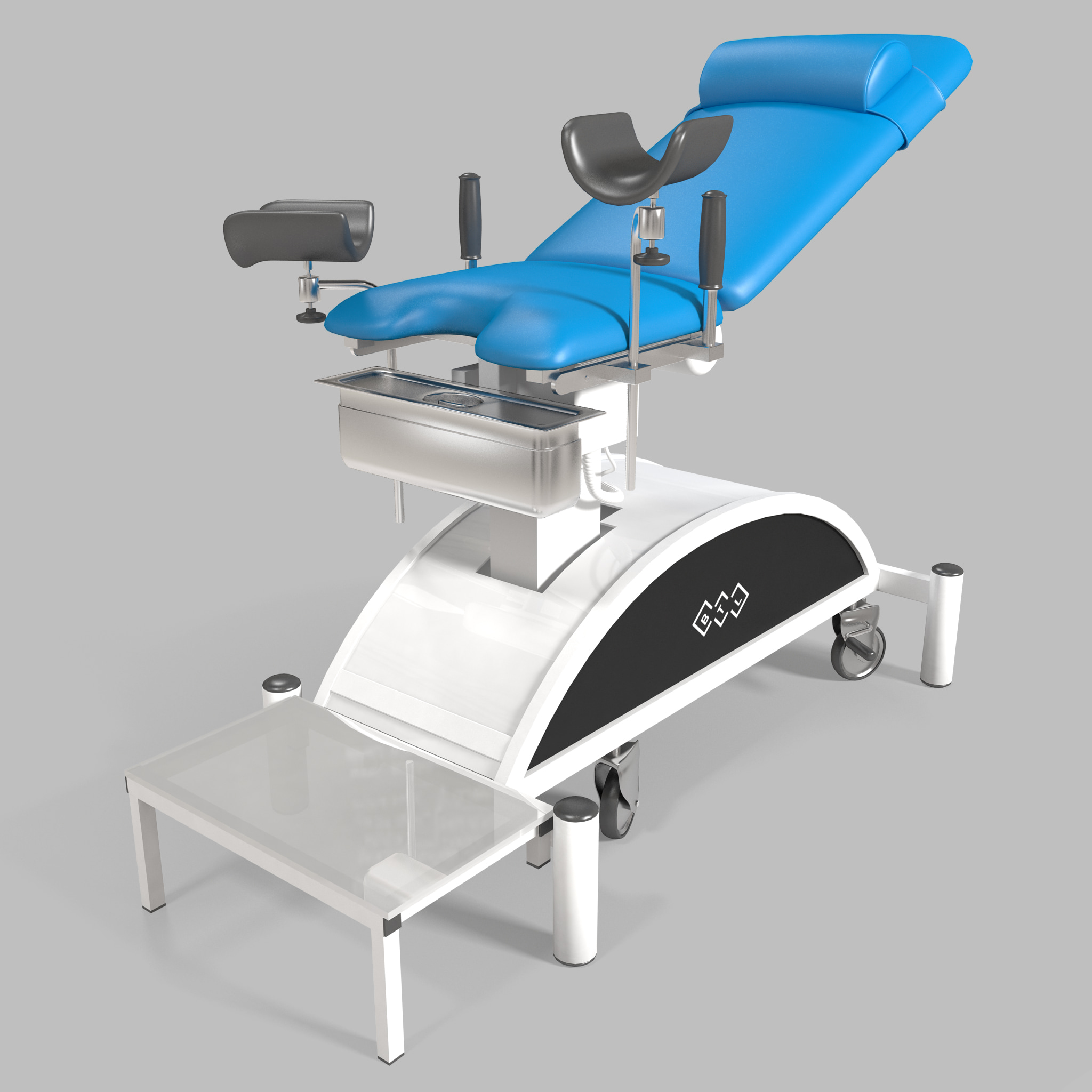 gynecology chair 3d model