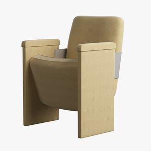 armchair tissue straw
