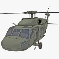 3ds eh-60 black hawk helicopter
