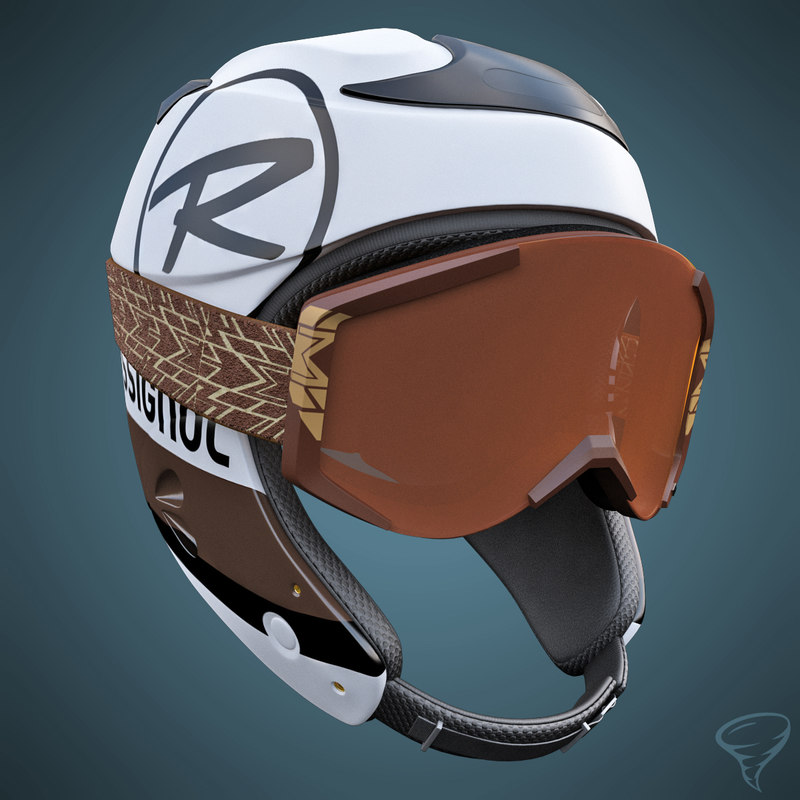 max alpine helmet goggles