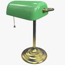 Banker Lamp 3D models