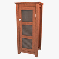 floor cabinet door 3ds