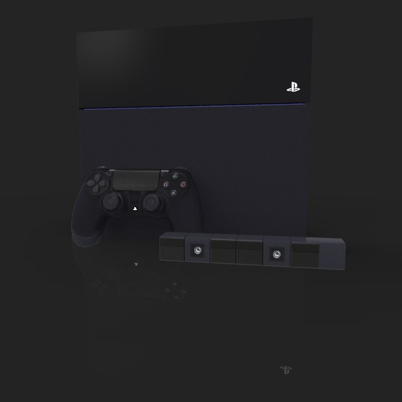 3dsmax ps4 console