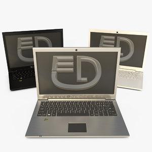 generic laptop 3d max