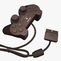 3ds max playstation joypad