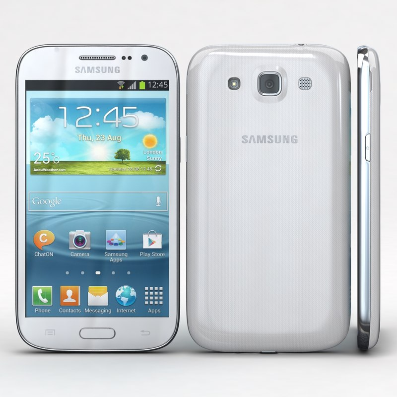 3d model samsung galaxy win i8550