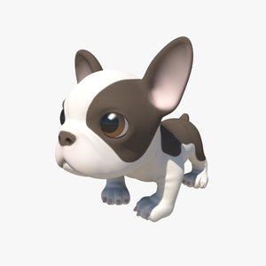 obj french bulldog puppy