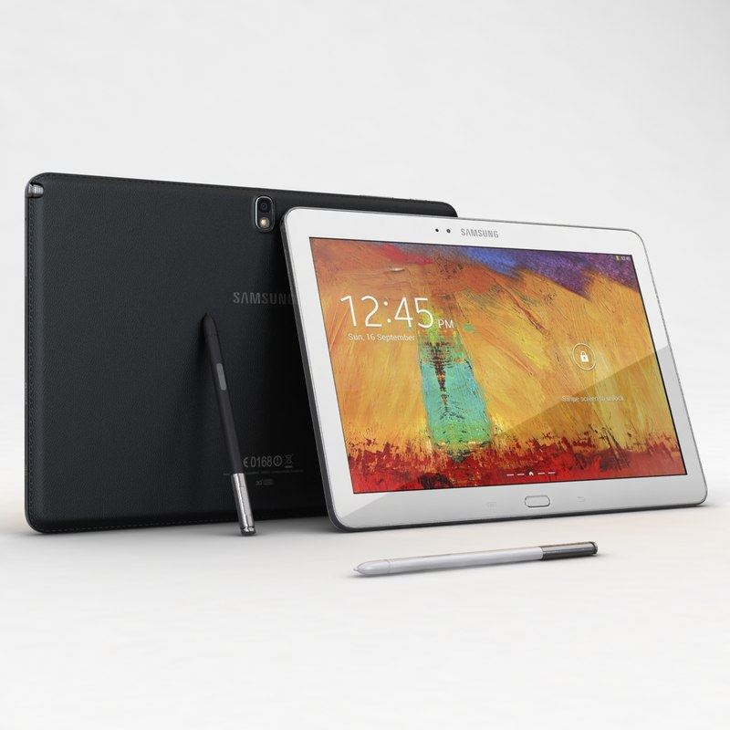 samsung galaxy note 10 3d model