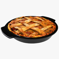 apple pie 3d max