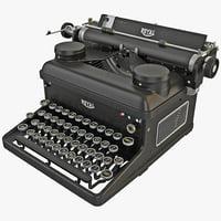 Typewriter ROYAL