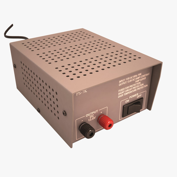 power supply 3d model